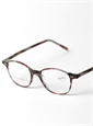 Lafont Semi-Square Frame in Tortoise with Red