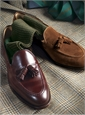 The Cavendish Tassel Loafer in Cordovan