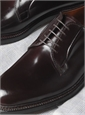 The Alden Plain Toe Blucher in Cordovan