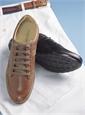 The Geox Walking Shoe in Cognac