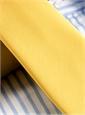 Mogador Silk Solid Signature Tie in Brass