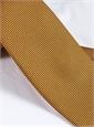 Silk Basketweave Tie in Bronze