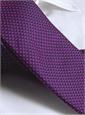 Basketweave Tie in Violet, Pink & Marine