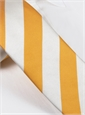 Silk Block Stripe Tie in Sun