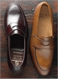 The Harvard Loafer in Burgundy Cordovan