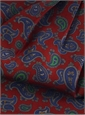 Silk Print Paisley Ascot in Kenya
