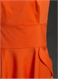 Ladies Cotton Coral Dress