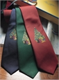 Christmas Tree Tie in Red