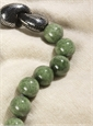 Single Strand Chrome Diopside Necklace