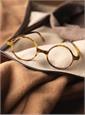 Slender Round Frame in Matte Mahogany