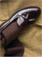 Wool Houndstooth Dress Socks
