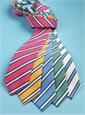 Mogador Striped Tie in Cornflower