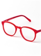 Silver Line Square Frame in Red