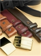 Overstock Calfskin Leather Belt Straps