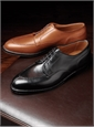 The Alden Split Toe Blucher in Black