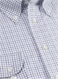 Navy and Sky Tattersall Button Down