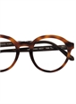 Francois Pinton Bold Semi-Round Frame in Brown Shell