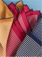 Silk Printed Polka Dots Pocket Squares