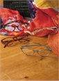 Oval Butterfly Frame in Red Tortoise