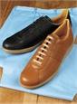 The Leather Sneaker in Tan