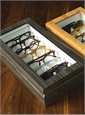 Smaller Eyewear Chest in Zebra Grey