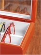 Smaller Eyewear Chest in Orange