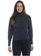 Ladies Cashmere Roll Collar Sweater