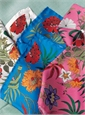 Silk Printed Floral Pocket Squares