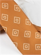 Silk Diamond Printed Tie in Marigold