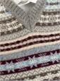 Fairisle Sweater Vest in Flannel