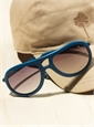 Aviator Rubber Sunglass in Aviation Blue