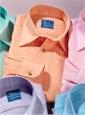 Orange Charleston Linen Shirt