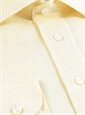 Butter Linen Spread Collar