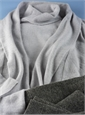 Ladies Cashmere Turtleneck Sweater in Potash