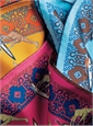Silk Surfing Giraffe Pocket Squares