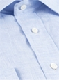 Sky Linen Spread Collar