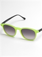 Colorful Sunglasses in Lime Green Matte