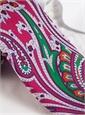 Silk Print Large Paisley Tie in Medici