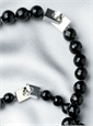 Black Onyx Necklaces With Silver Clasp