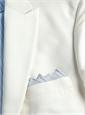 Dinner Jacket White Silk