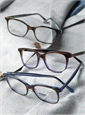 Lafont Bold Semi-Square Frame in Tortoise with Blue