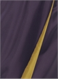 Marie Meunier Ogive Wrap Skirt in Purple and Mustard
