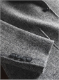 Charcoal and Silver Herringbone Harris Tweed Sport Coat