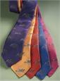 Silk Woven Equestrian Tie in Persian