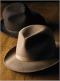 Borsalino Travelers Fedora in Chocolate