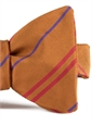 Mogador Double Stripe Bow in Spice