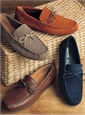 Geox Moccasins in Tan Leather