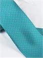 Fleur De Lis Tie in Turquoise