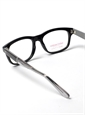 Lafont Rectangular Frame in Black with Grey