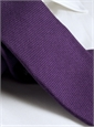 Wool, Silk and Cashmere Blend Solid Tie in Violet